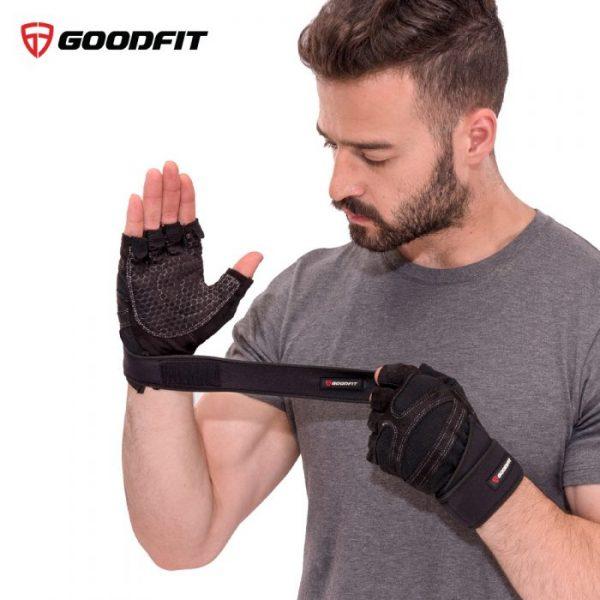 Găng tay tập gym có quấn GoodFit GF201G